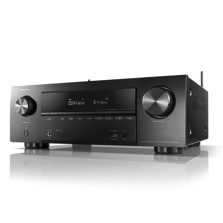 Denon AVR-X1600H DAB AVR