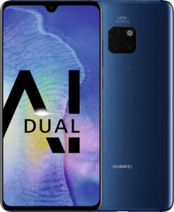 Huawei Mate20 Dual-SIM Smartphone Bundle (6,53 Zoll, 128GB, 4 GB RAM, Android 10) midnight blau + USB Typ-C-Adapter