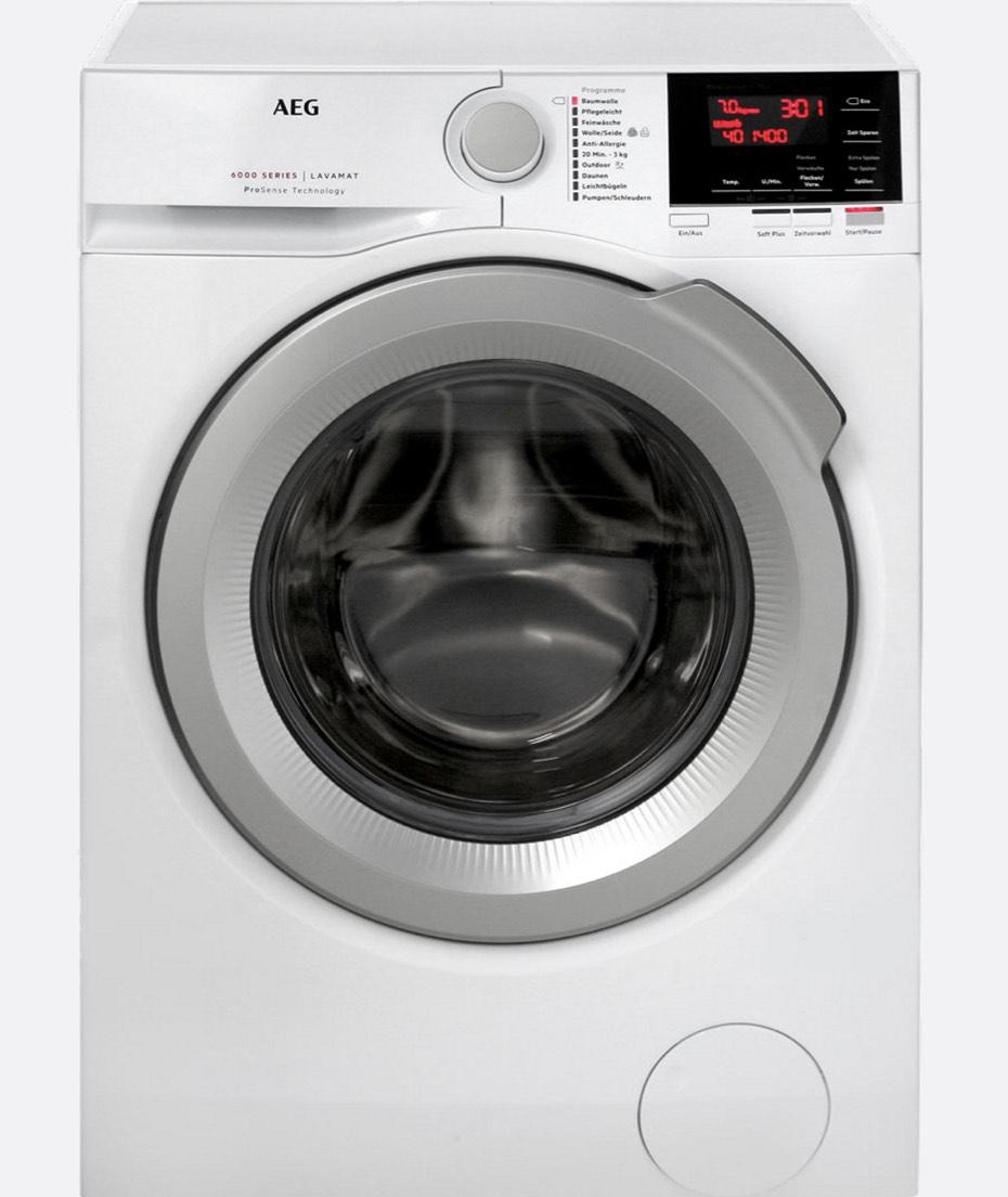 Waschmaschine AEG L6FB64470; 2. bei Stiftung Warentest