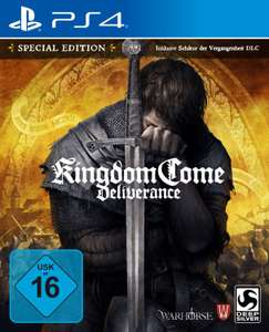 Kingdom Come: Deliverance - Special Edition - Playstation 4 & Age of Wonders für je 9,99€ [Saturn Abholung]
