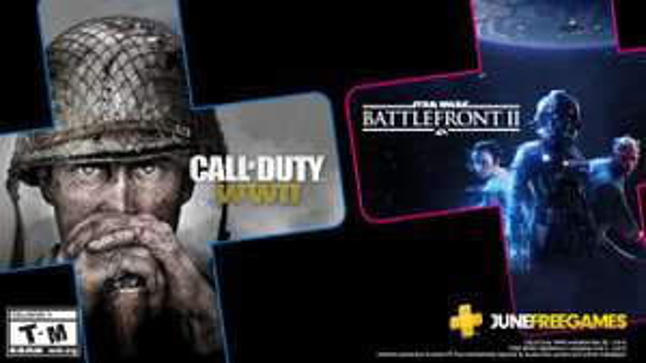 PlayStation Plus - Call of Duty World War II & Star Wars Battlefront II kostenlos als Teil des Abos