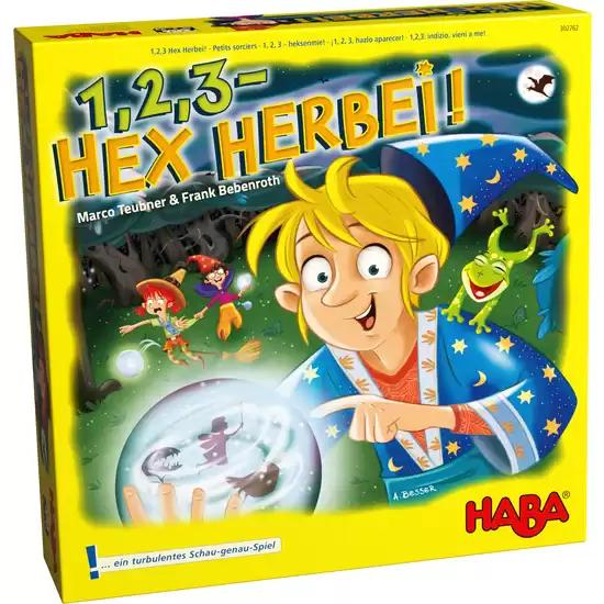 1,2,3 Hex Herbei! Kinderspiel von HABA, Jakoo