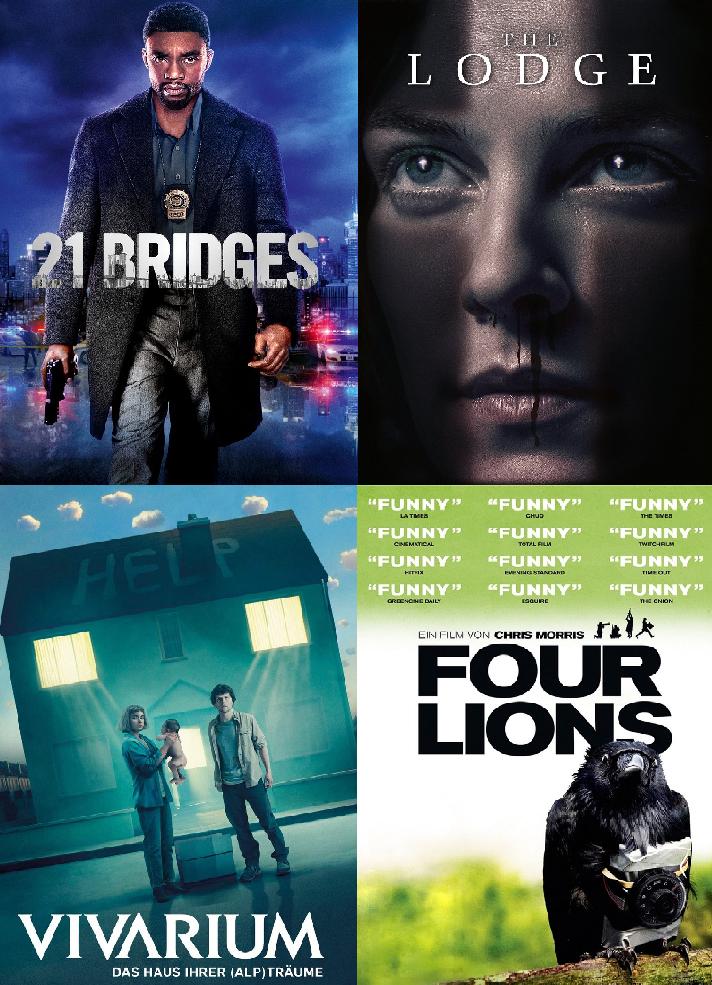 [Lidl Plus App] 1x VoD HD Film aus dem gesamten Angebot von Videobuster für 1€ (21 Bridges, The Lodge, Vivarium, Four Lions...))
