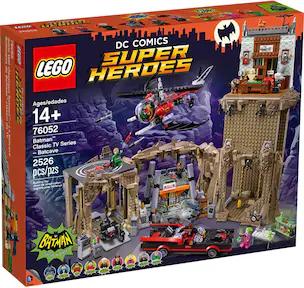 (GALAXUS) LEGO DC Comics Super Heroes Batcave (76052)