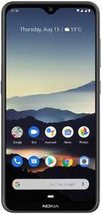 """Nokia 7.2, 6.3"""", 6/128 GB, SD660, Android One, Dual-Sim, charcoal"""