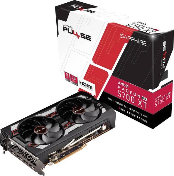 Sapphire AMD Radeon RX 5700 XT Pulse - für 356,14€ mit Thalia Premium und 15 Fach PB Punkte - Ryzen 3600 140,14€,Ryzen 3900x 364,14€