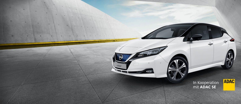 Langzeitmiete E-Auto - Nissan Leaf 299€ p.M. ADAC / Ohne ADAC 350€ p.M. inkl. Versicherung (6 Monate & 7.500 km)