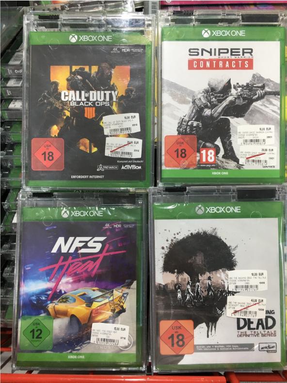 [LOKAL] Media Markt Berlin Charlottenburg XBOX / Borderlands 3, NFS Heat, Walking Dead, Sniper Contracts, Black Ops 4, WRC 8