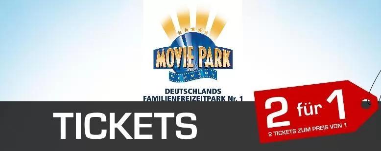 Movie Park Bottrop 2 für 1 Saison 2020