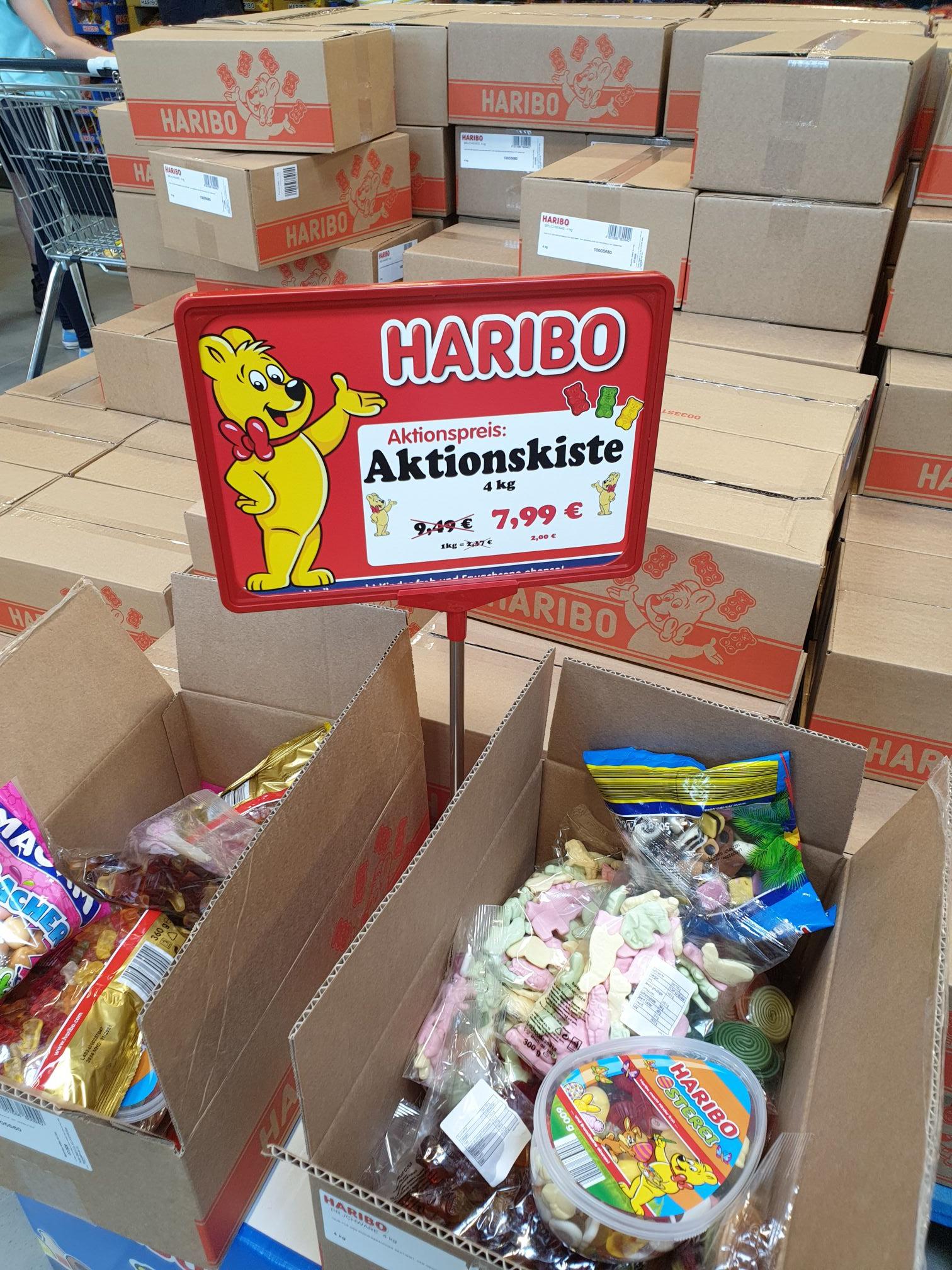 "[Lokal Bonn] 4 kg Haribo ""Bruchware"" Aktionskiste (MHD 7/20)"
