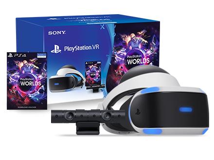 [Saturn Bielefeld] PlayStation VR V2 Bundle mit Kamera und VR Worlds für 149€