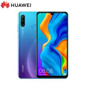 """Huawei P30 Lite 64GB Blue 6.15"""" Smartphone 4GB RAM Android 9.0 with google play"""