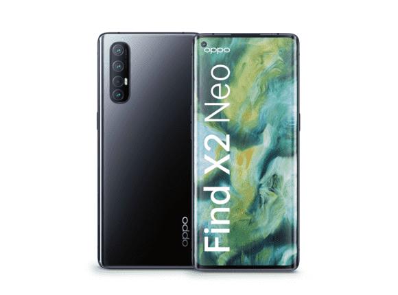 OPPO Find X2 Neo Smartphone (16,5 cm (6,5 Zoll)) 256 GB interner Speicher, 5G, 12 GB RAM, 4260mAh mit 30W Blitzladen, 48MP [Saturn & Amazon]