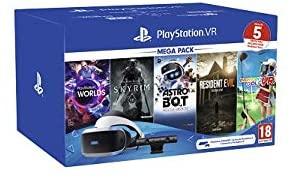 PlayStation VR Megapack 2 inkl. Skyrim, Astro Bot, VR Worlds, Resident Evil: Biohazard, Everybody´s Golf für 222,02€ inkl. Versandkosten