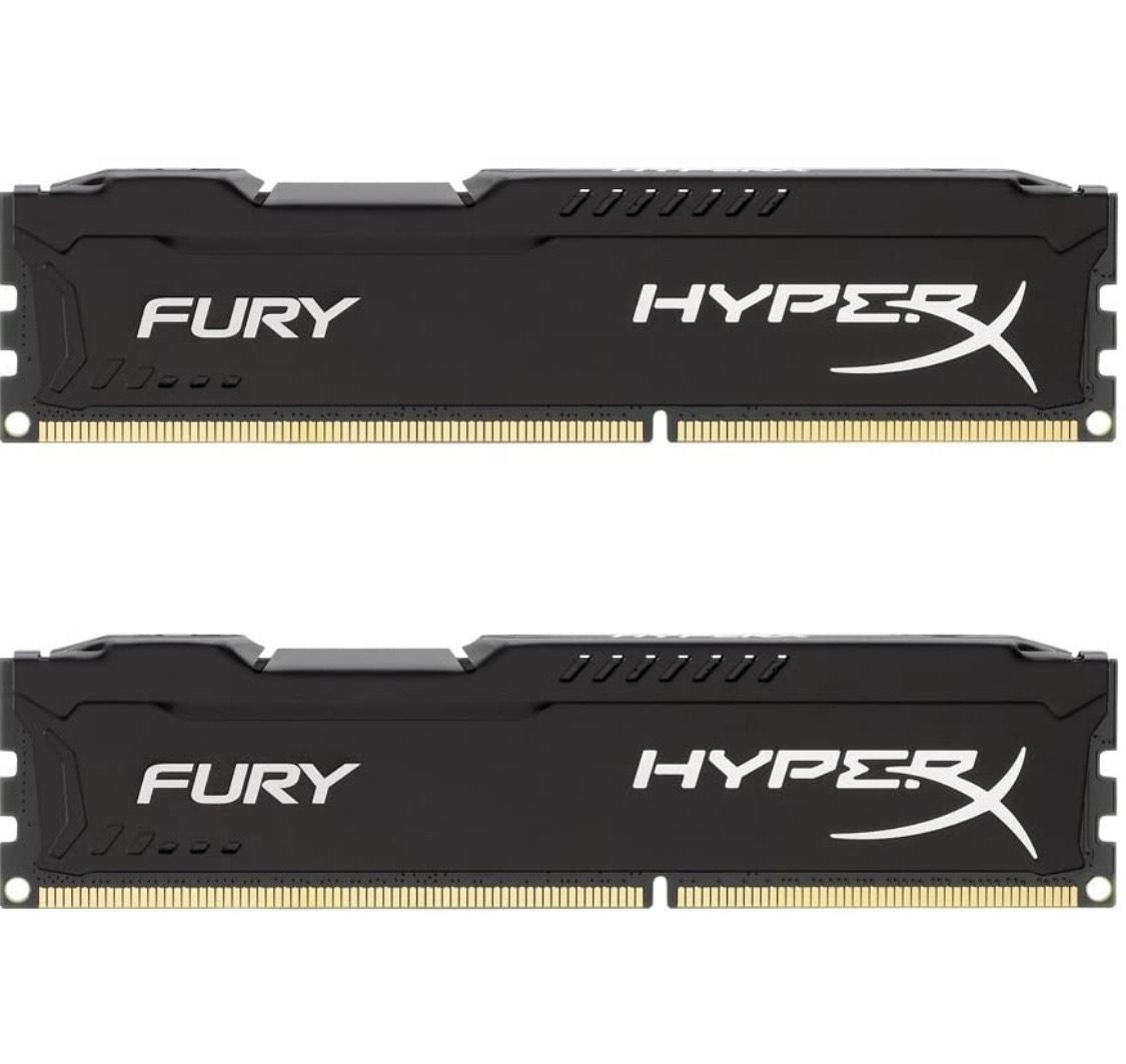 HyperX Fury Arbeitsspeicher, DDR3, 16GB (Kit 2X 8GB)