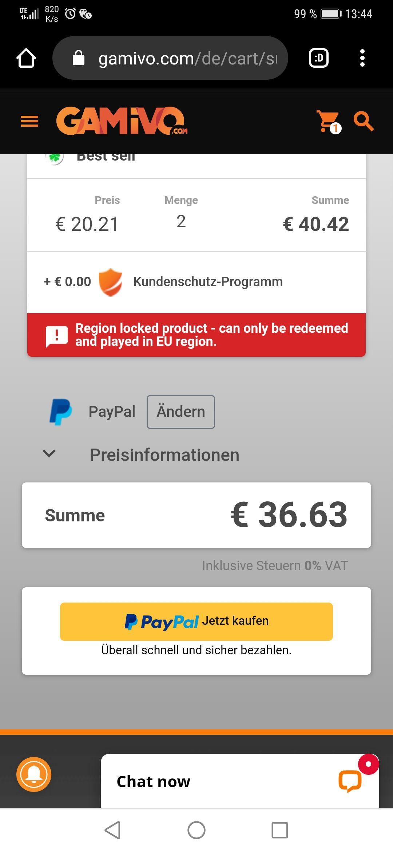 Xbox Live Guthaben 25€ x 2