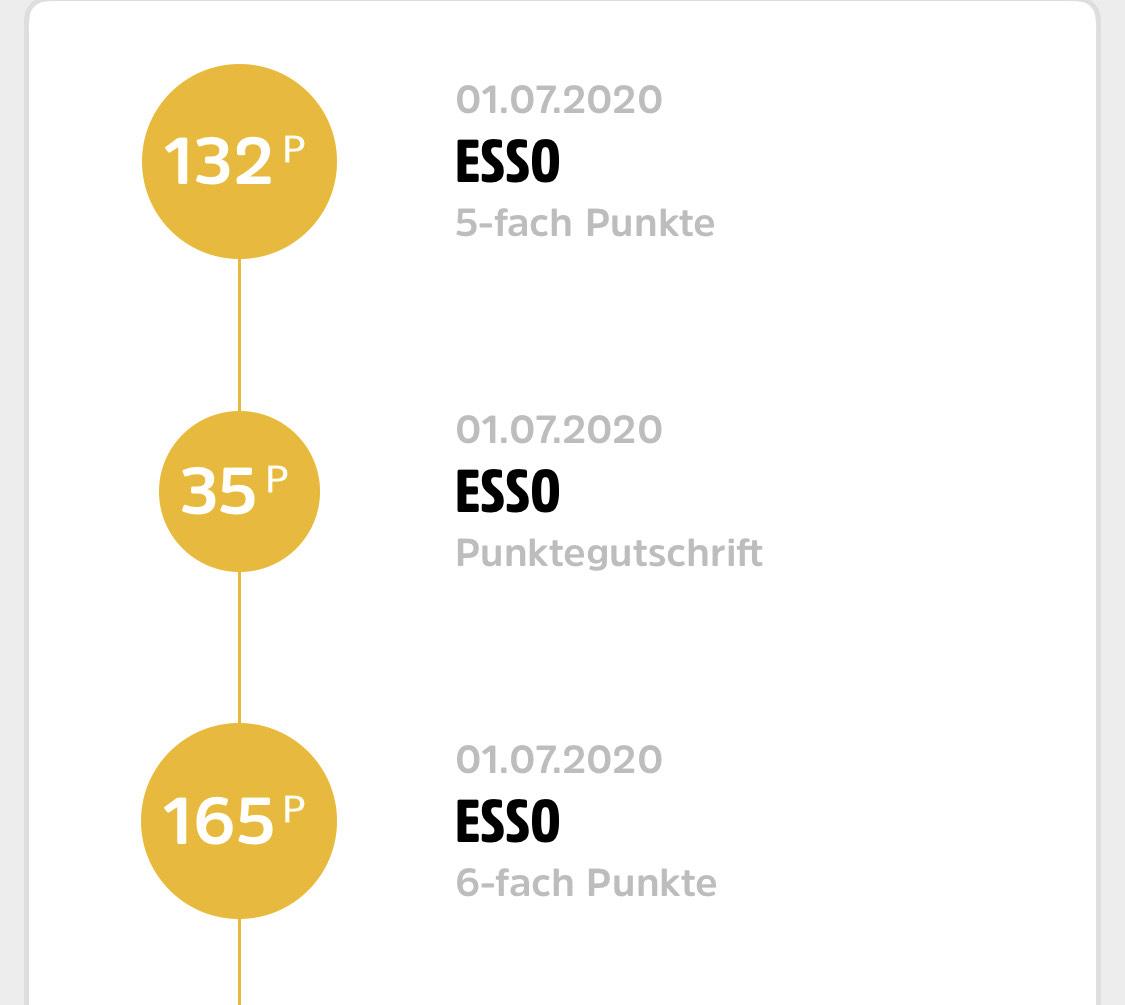 Esso Punkte (DeutschlandCard)