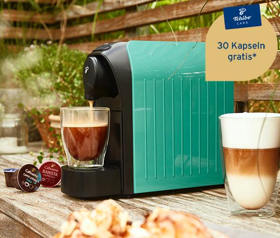 Cafissimo easy PETROL Kapselmaschine 28,27€ inkl. Versand bei Tchibo