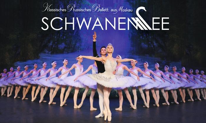 """2 Tickets für """"Schwanensee"""" ab 9. Dezember u. a. in Berlin, Hamburg, München und Halle   Klassische Russische Ballett aus Moskau"""