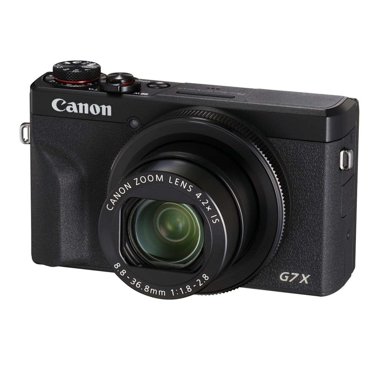"Canon PowerShot G7 X Mark III Digitalkamera (20,1 MP, 3""Touchscreen, klappbar, DIGIC 8, 4K, Full-HD, WLAN) für 520,60€"