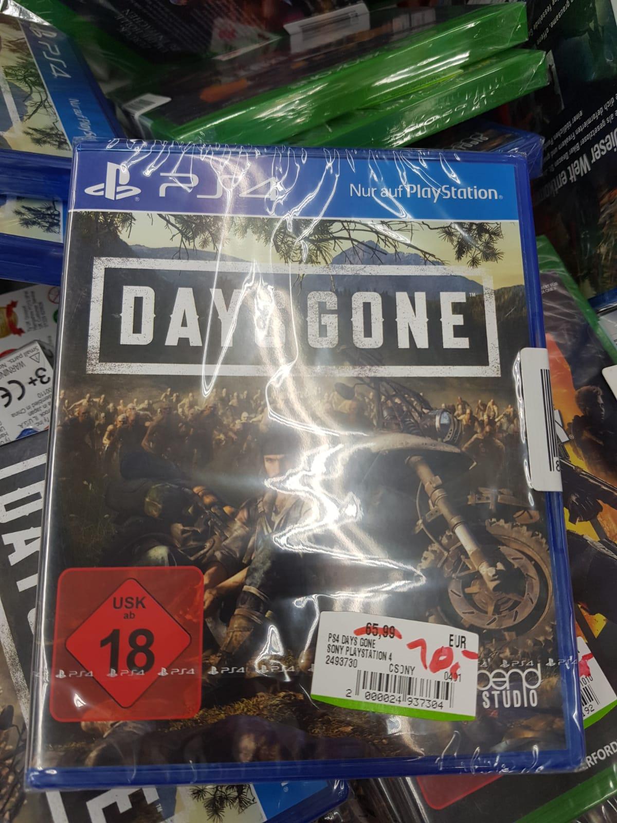 [LOKAL MediaMarkt Dortmund Indupark] Days Gone (PS4)