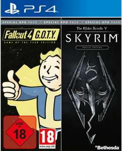 Fallout 4: Game of the Year Edition + The Elder Scrolls V: Skyrim: Special Edition (PS4) für 26,99€ (Müller Abholung)