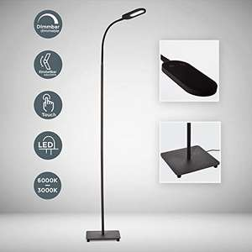 Blitzangebot - LED Stehlampe dimmbar I inkl. 8W 600lm LED Platine
