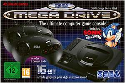 Sega Mega Drive Mini für 50,88€ inkl Versand bei MediaMarkt über eBay