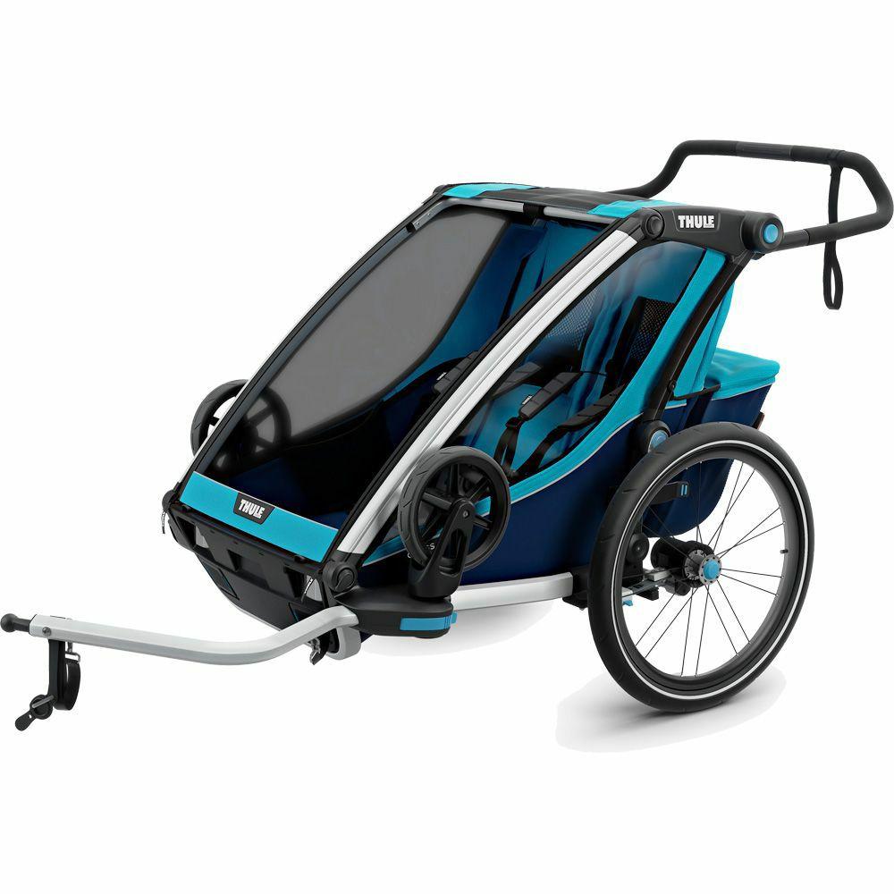 Thule Chariot Cross 2 Sitzer 2020 blue