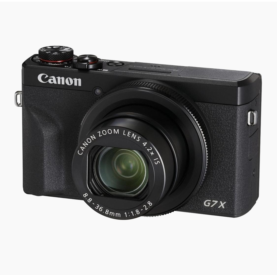 Canon G7X Mark III Battery Kit (Digitalkamera, 20,1 MP, DIGIC 8, Zusatzakku)