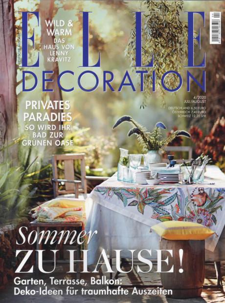 ELLE Decoration Abo (6 Ausgaben) für 34 € mit 35 € BestChoice-Universalgutschein inkl. Amazon oder 30 € Scheck