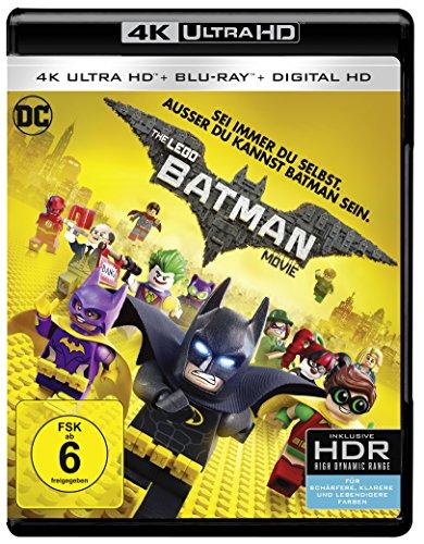 The LEGO Batman Movie (4K UHD + Blu-ray + UV Copy) (Amazon Prime)