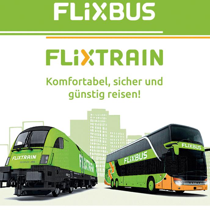 FlixBus & FlixTrain 20€ Geschenkkarte für 15€ [Netto MD - online]