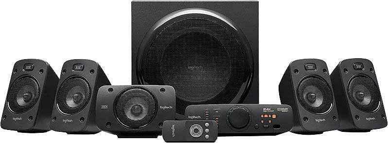 Logitech Z906 5.1 5.1 Lautsprecher System (500 W) [Otto]
