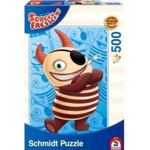 4 verschiedene Schmidt Spiele Sorgenfresser Puzzle je 500 Teile! Alle zusammen für 12,95€ inkl. Versand