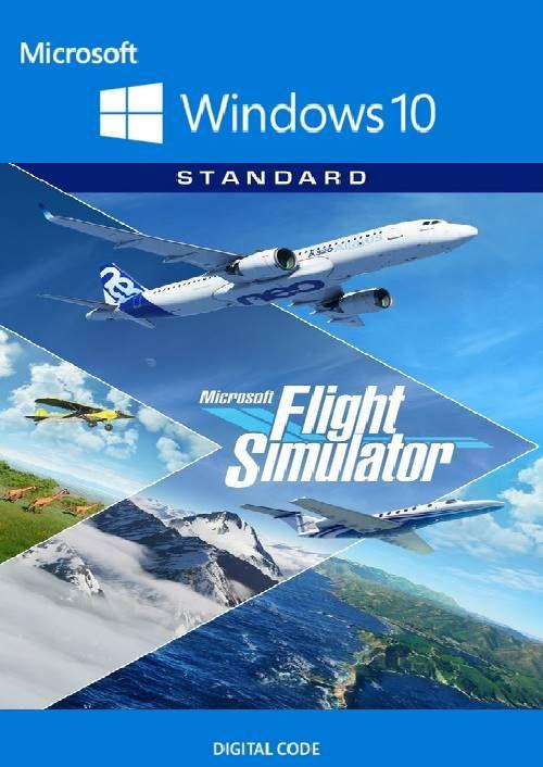(cdkeys.com - Vorbestellung schon jetzt möglich) Microsoft Flight Simulator 2020 Standard Edition - Windows 10 PC (englisch)