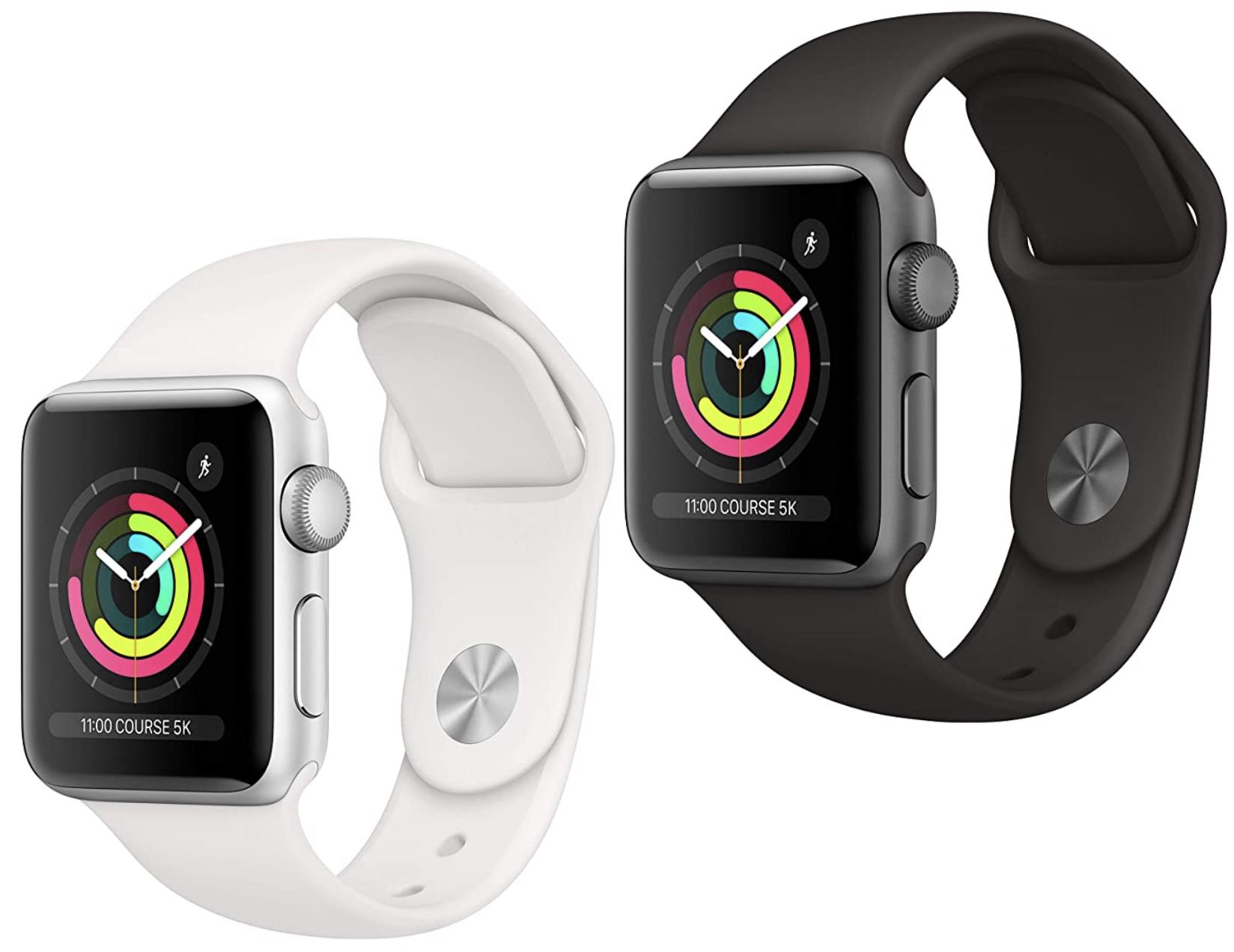 Apple Watch Series 3 GPS 42mm für 226,65€ oder 38mm für 196,67€ inkl. Versandkosten