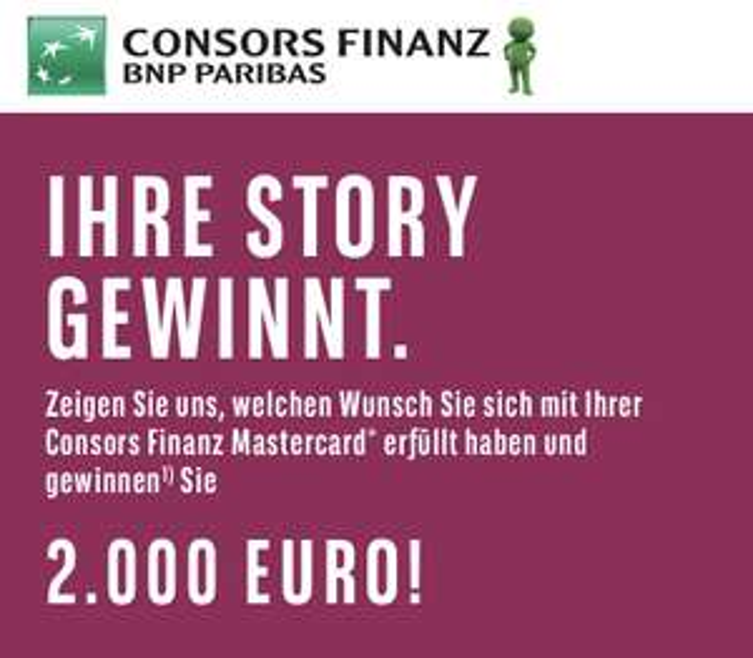Consors Finanz 10 € Amazon Gutschein für Bestandskunden