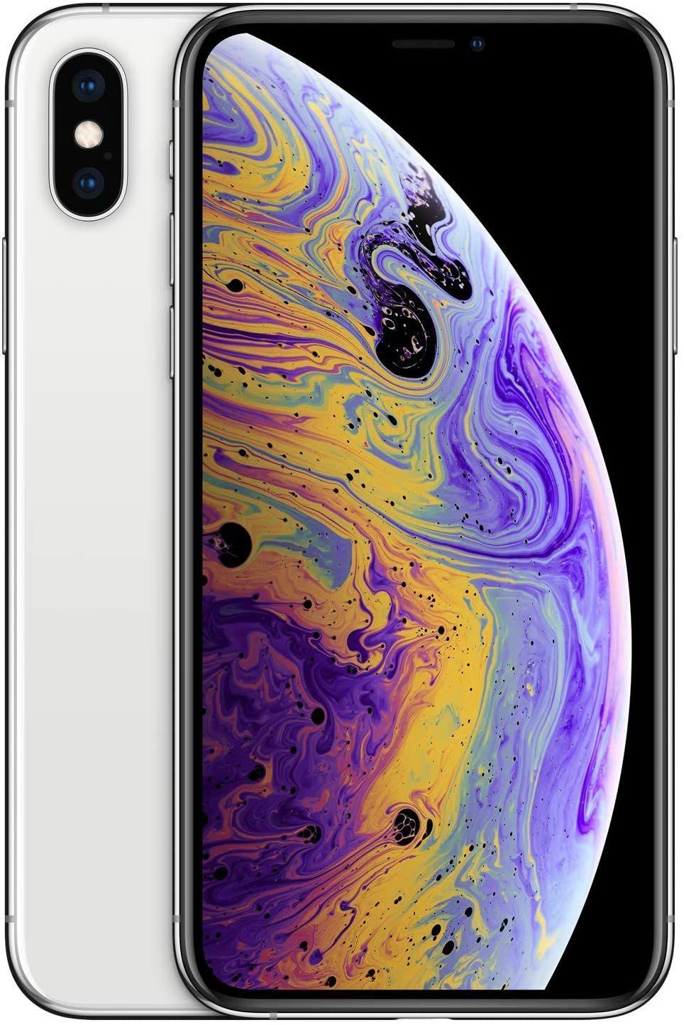 "Apple iPhone XS 256GB Silber (5,8"" FHD+ OLED, 177g, 4/512GB, A12, Dual-SIM, NFC, 2658mAh, 10W, AnTuTu 357k) [V&V Amazon]"