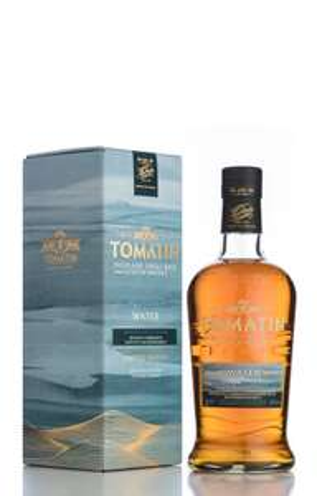 Tomatin Five Virtues Water. Single Malt Whisky