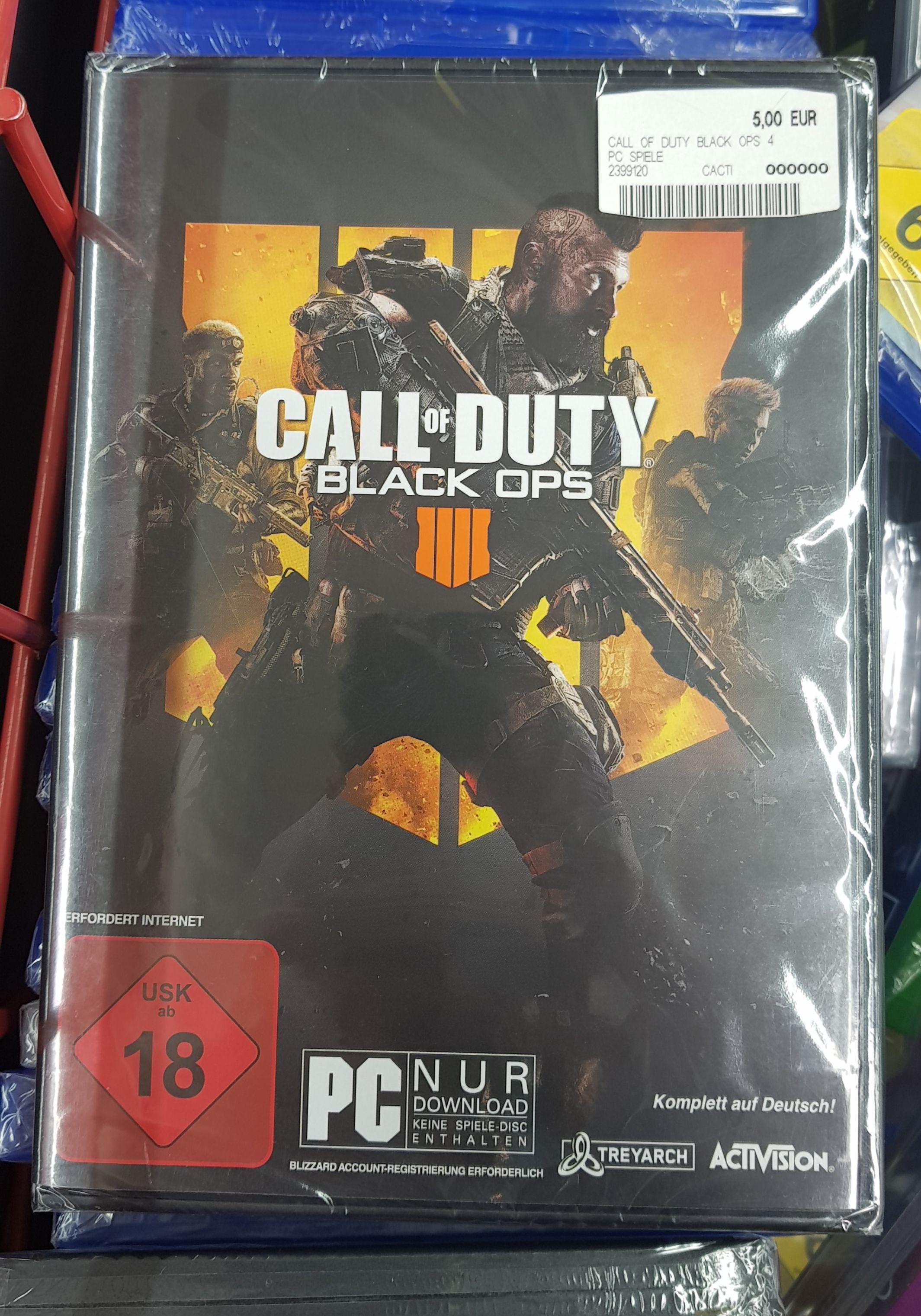 Call Of Duty Black Ops 4 PC Köln Marsdorf Media Markt Lokal