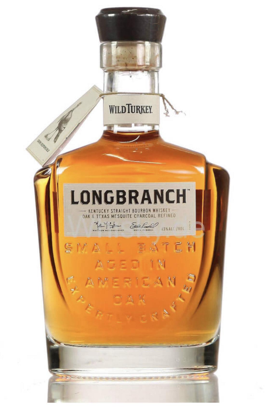 Wild Turkey Longbranch Kentucky Bourbon Whiskey (1L)