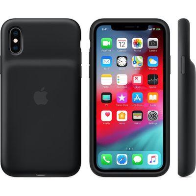 Apple Smart Battery Case (iPhone Xs) schwarz Handytasche