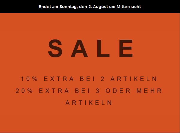 Scotch & Soda auf Sale (bis 50%) nochmal 20% Extra bei 3 oder mehr + 10% Newslettergutschein kombinierbar