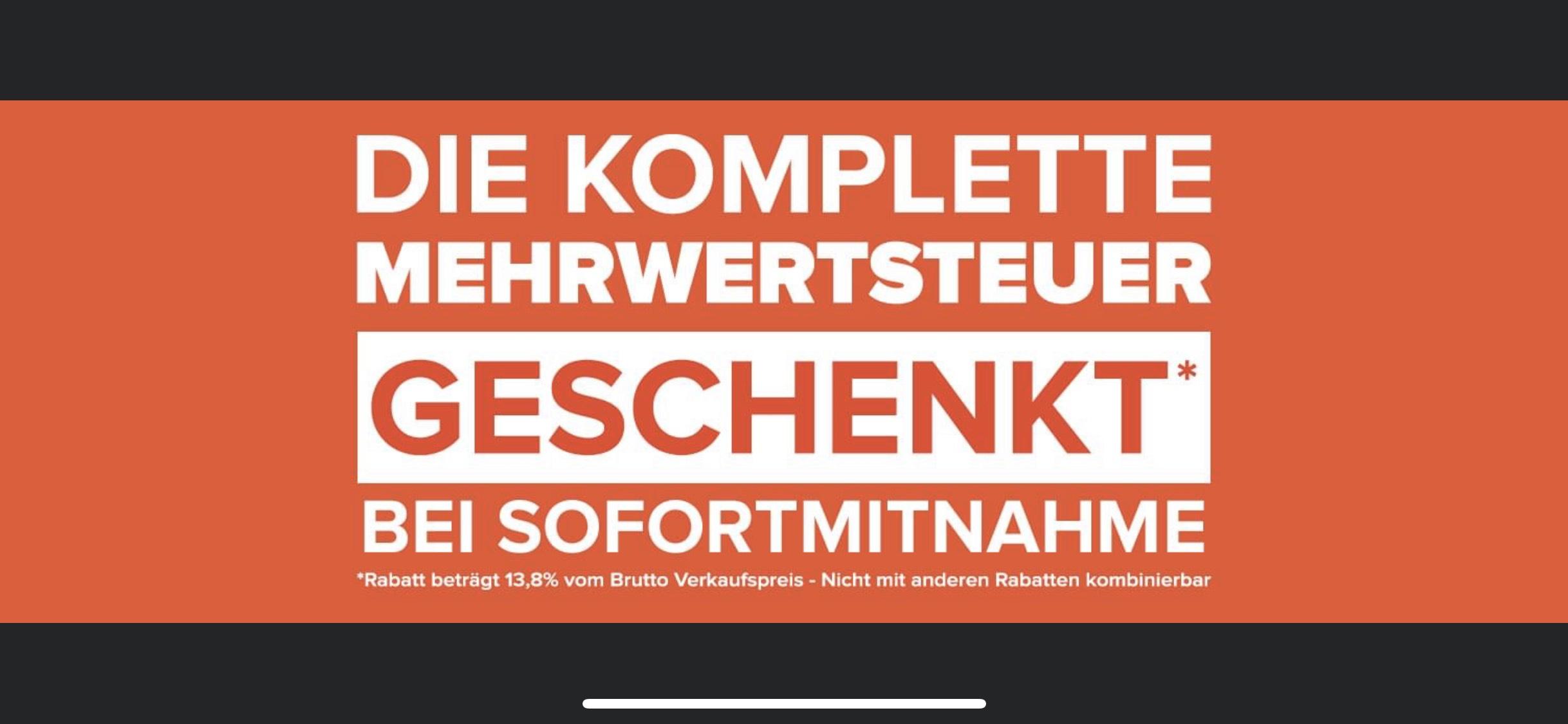 Home-24 Outlet Hannover 16% MwSt. geschenkt sofort Mitnahme