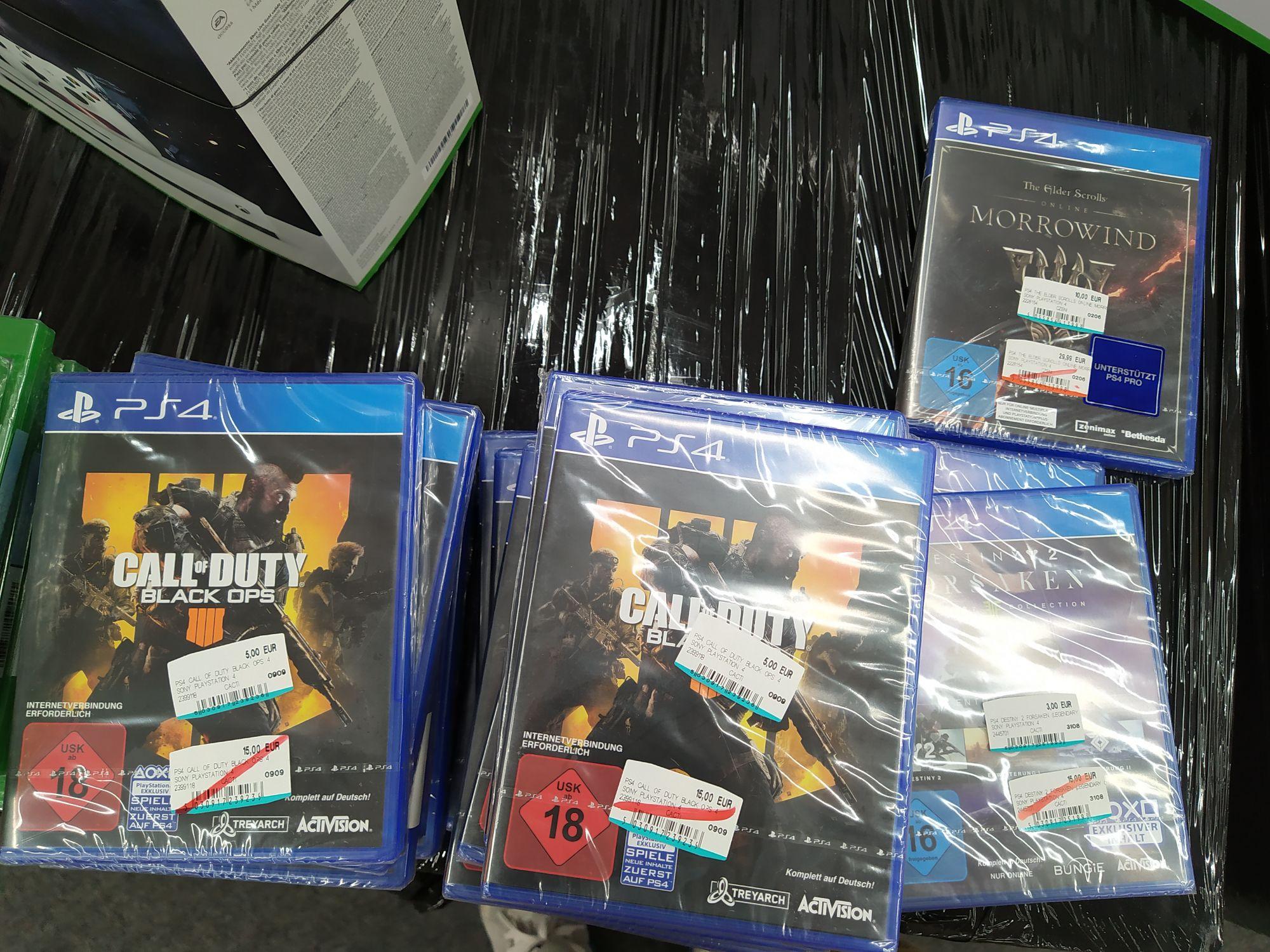 [Lokal Hannover Media Markt Wülfel] Destiny 2: Forsaken - Legendary Collection (3€) oder Call of Duty: Black Ops 4 (5€) (PS4)