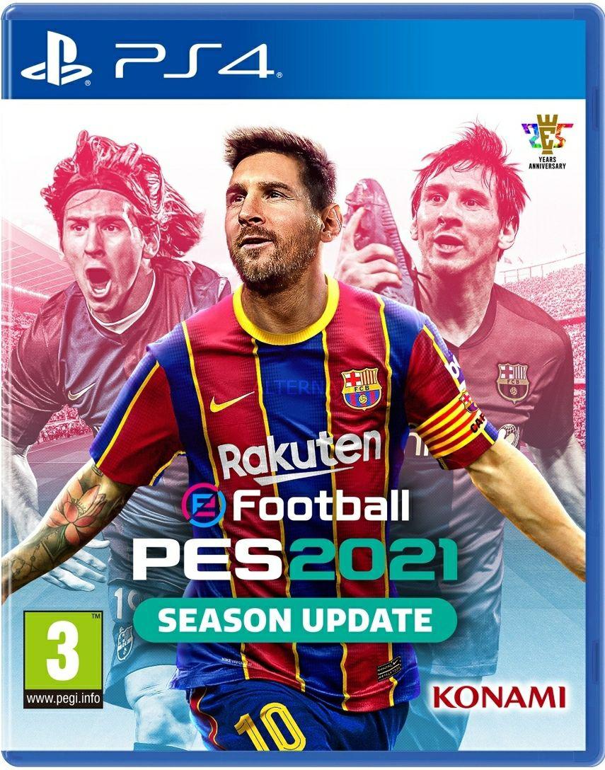 eFootball PES 2021 Season Update (inkl. EM 2020 Modus) für die Playstation 4 [Alternate Tagesdeal]