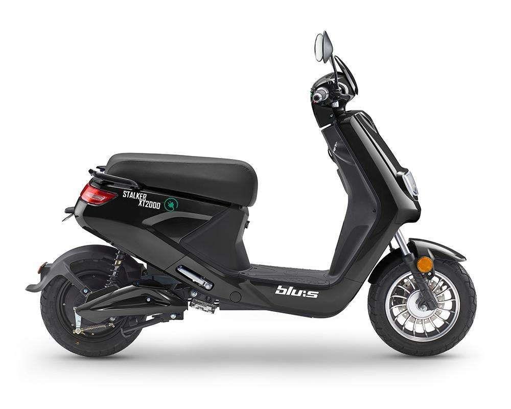 Blu:s XT2000 Elektroroller mit 2000 Watt Bosch Motor (45 km/h) [Norma]