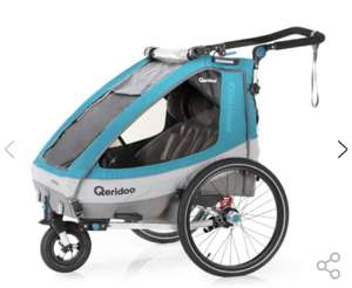 Qeridoo Sportrex 2 (2020 Modell) Fahrradanhänger