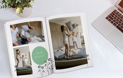 Fotoquelle Fotobuch A4 Hardcover 24-120 Seiten nur 18,94 inkl. VK (Import von Pixelnet möglich)